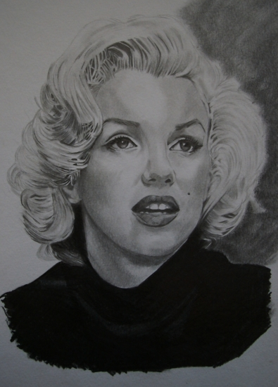 Marilyn Monroe by umberto